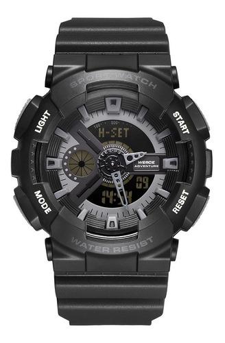 Relógio Masculino Weide Digital Analógico Original Nf