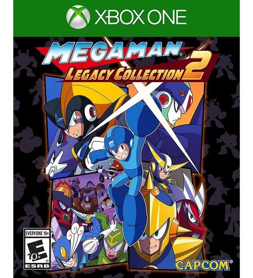 Mega Man Legacy Collection 2 Xbox One Mídia Física Lacrado