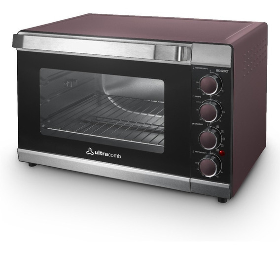 Horno Electrico Ultracomb Uc-62rct 62litros Spiedo 12cts