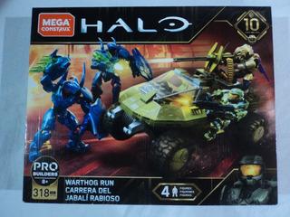 Halo Megaconstrux Warthog Run Serie 10 2019 #2 Arbiter Chief