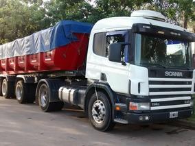 Scania P114 330hp Con Batea Volcadora