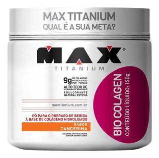Bio Colagen 150g - Colágeno Em Pó Max Titanium