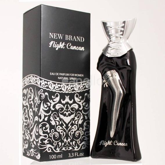 Perfume Night Cancan New Brand Feminino 100ml Promoção