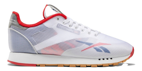 Tenis Reebok Classic Leather Ati Hombre Envío Gratis Blanco