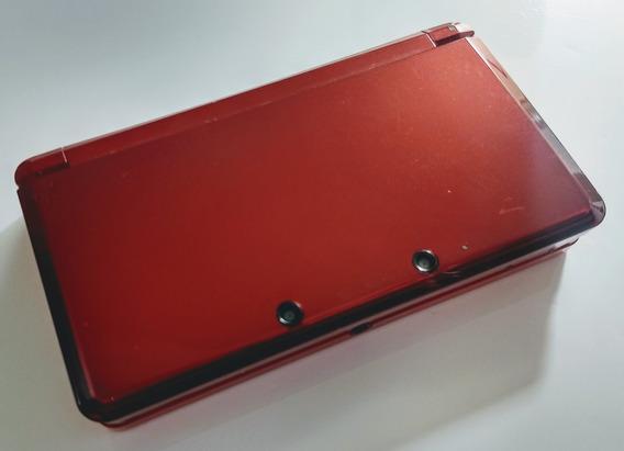 Nintendo 3ds - Vermelho Red + Mario 3d Land Em 12x Sem Juros