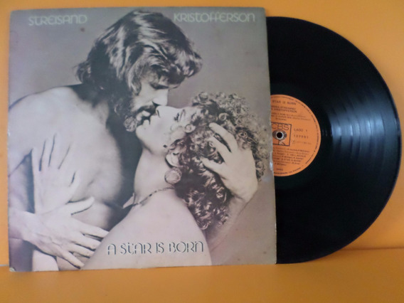 Lp Streisand Kristofferson - A Star Is Born