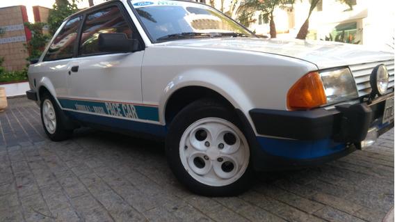 Ford Escort Xr3 Pace Car Original De Plaqueta