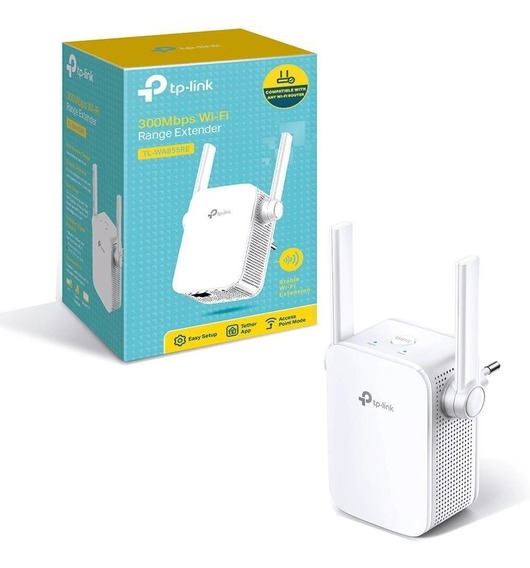 Repetidor Wireless Tp-link Tl-wa855re - C/2 Antenas