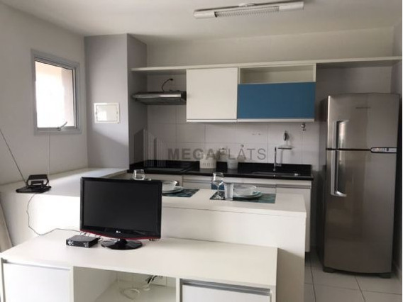 06120 - Flat 1 Dorm, Campo Belo - Sao Paulo/sp - 6120