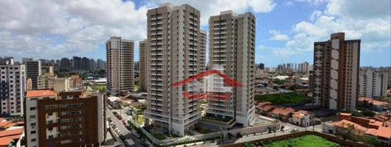 Apartamento Com 3 Dormitórios À Venda Por R$ 360.000 - Papicu - Fortaleza/ce - Ap0641