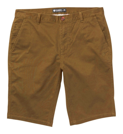 Bermuda Element Howland Short Tobacco Hombre