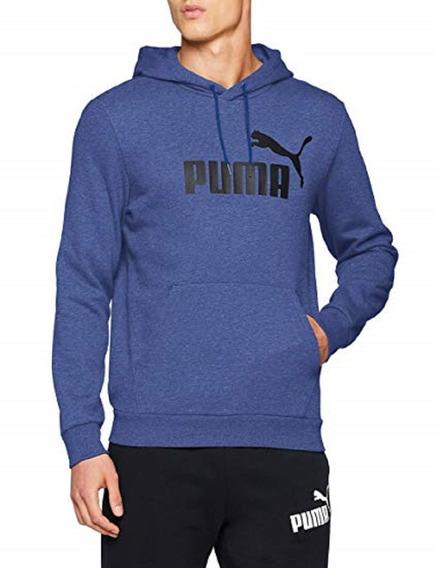 Sudadera Puma Hombre Blue Ess Hoody