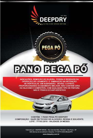 Pano Pega Pó Automotivo Deepdry - Kit Com 20 Unidades