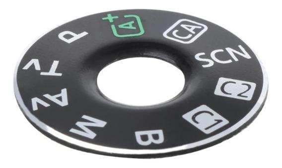 Logotipo Do Botão Seletor Camera Canon 6d