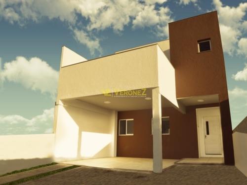 Casa Em Guarujá Com 3 Dormitórios - Vz1511