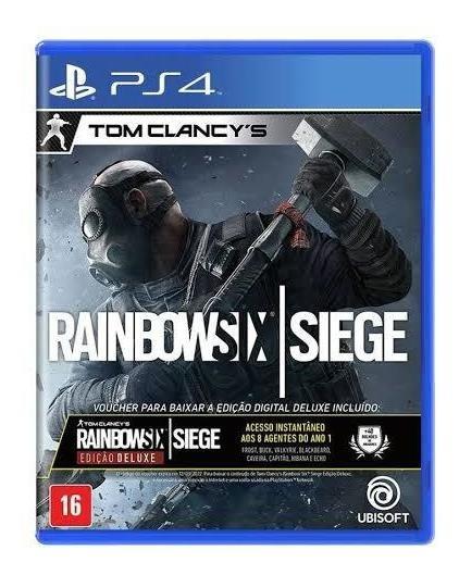 Raibownsix Siege - Ps4