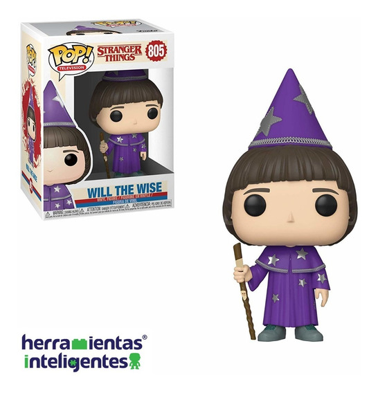 Will The Wise Funko Pop Stranger Things Netflix Serie Tv