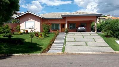 Bela Casa Térrea Com 3 Suítes À Venda Em Condomínio Fechado, Atibaia Sp - Ca1881
