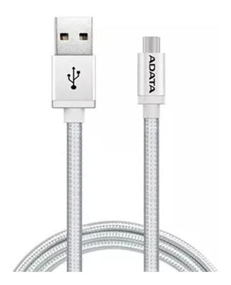 Adata Cable Micro Usb Celular V8 Original Carga Y Datos Tela