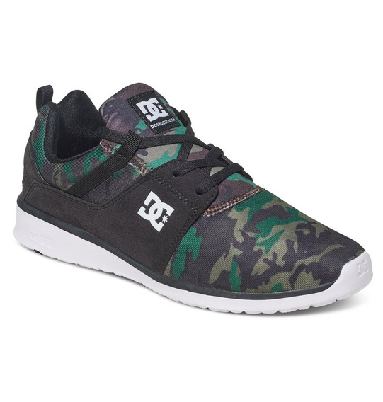 Zapato Tenis Hombre Caballero Heathrow Se Negrocamo Dc Shoes