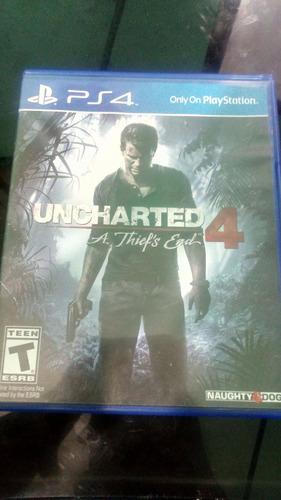 Uncharted 4  (como Nuevo) , Con Codigo