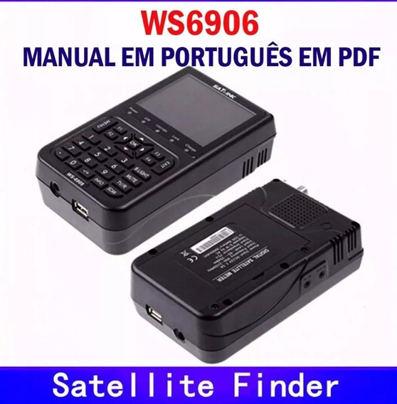 Manual Do Usuário Do Satlink Ws-6906 Pdf + Tps 2019