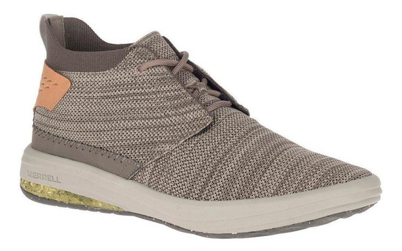 Botin Gridway Mid Gris Merrell