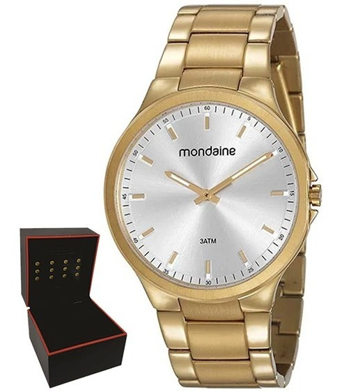 Relógio Mondaine Masculino Original Garantia Nf 53714gpmvda1