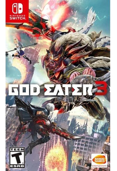 God Eater 3 Switch Mídia Física Novo Original Lacrado