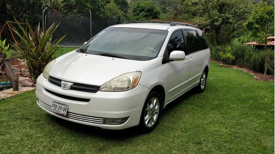 Toyota Sienna Xle Piel Blanca 2005 En Excelentes Condiciones