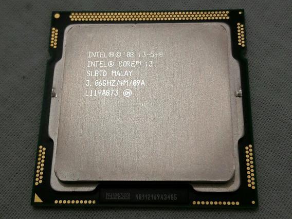 Processador Intel Core I3-540 3.06ghz 4mb Lga 1156 + Cooler