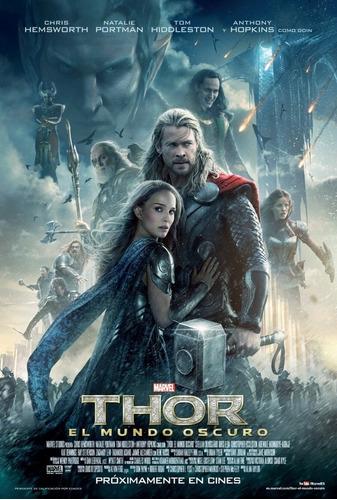 Poster Original Cine Thor - Un Mundo Oscuro