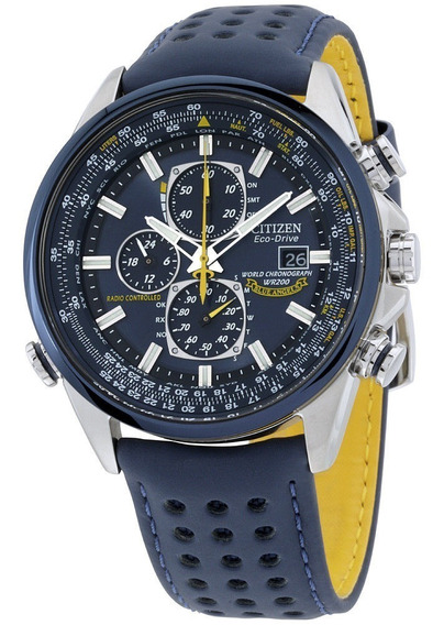 Relógio Citizen Eco Drive Blue Angels At8020-03l