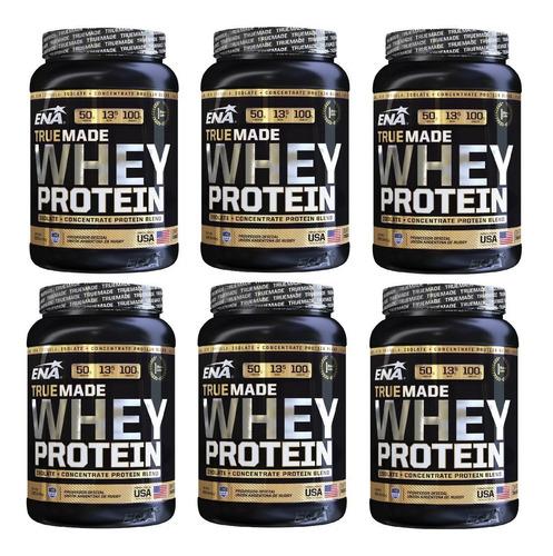 Whey Protein  Proteina True Made X 1kg Ena X 6 Unidades