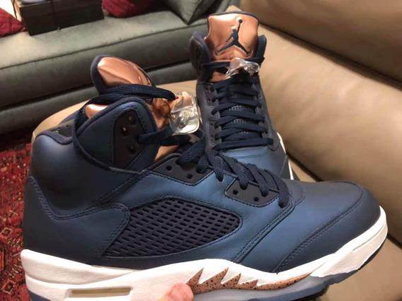 Air Jordan 5 Bronze 12us/10mx 100% Originales