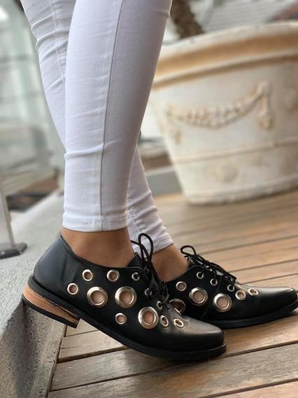 Zapatillas Mujer Art Ojal