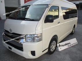 Toyota Hiace 2018 15 Pas Std Clima Cd Estereo Mp3 $449,000