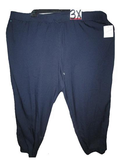 Pantalon Azul Marino De Vestir Talla 3x 44w Jaclyn Smith