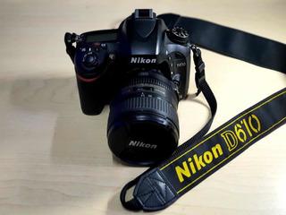 Cámara Nikon D610 En Perfectas Condiciones