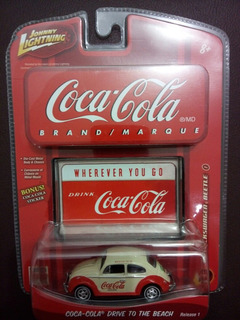 Fusca Coca Cola