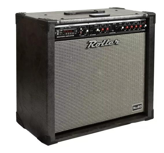 Amplificador Multifuncion Roller Mx 80 - 80w Cuotas