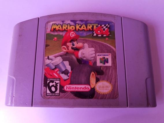 Mario Kart 64 N64 Americano Original! 100% Gravando!!