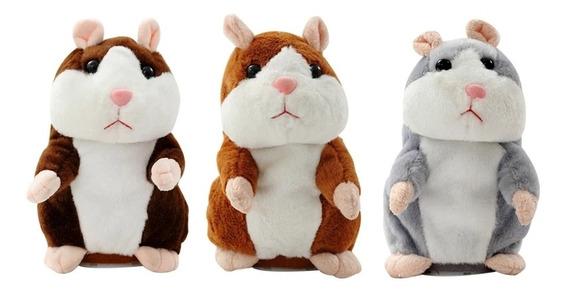 Boneco Hamster Repete Palavras Importado Pronta Entrega !!