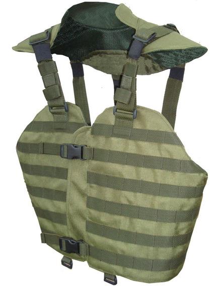 Chaleco De Combate Uso Táctico Militar/policial/gendarmeria/seguridad/sistema Molle/talle Regulable/3 Colores