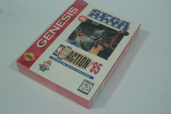 Nba Action Sega Mega Drive 100% Original Usa Novo Lacrado