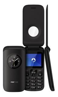 Celular Positivo P40 32mb Bluetooth Dual Chip 1,8 - Preto