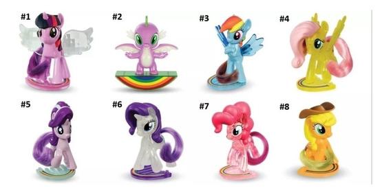 Kit 2 Ponei Unicornio Coleção My Little Pony Mc Donalds 2019