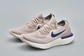 Zapatos Nike Epic React Taupe/blue Caballeros 41-44 (tienda)
