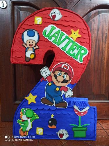 Piñata Mario Bross Número 2