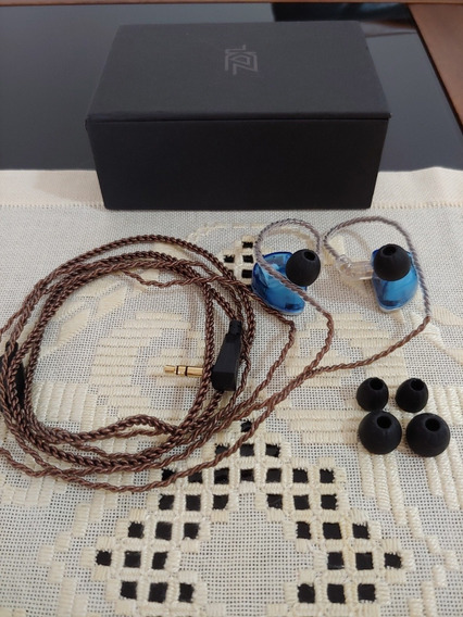 Fone In Ear Monitor De Palco Kz As 16 Top De Linha